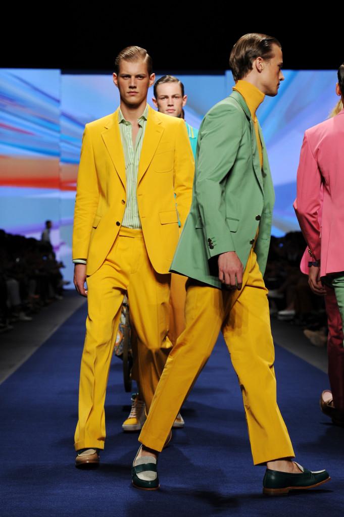 Etro Milan Fashion Week Menswear Spring/Summer 2015: lunga vita al colore