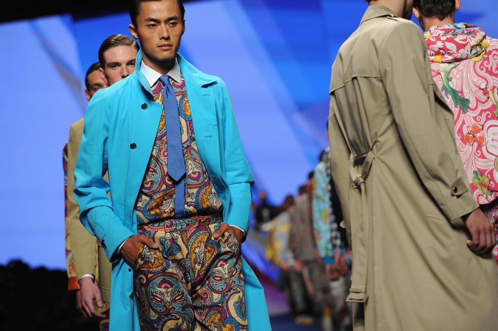 Milano Moda Uomo: la collezione Etro Spring/Summer 2015