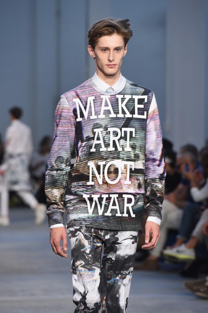 Make art not war, è il nuovo slogan di Frankie Morello