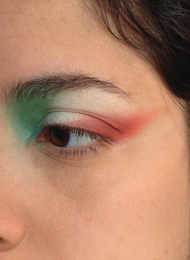 parte superiore dell'occhio