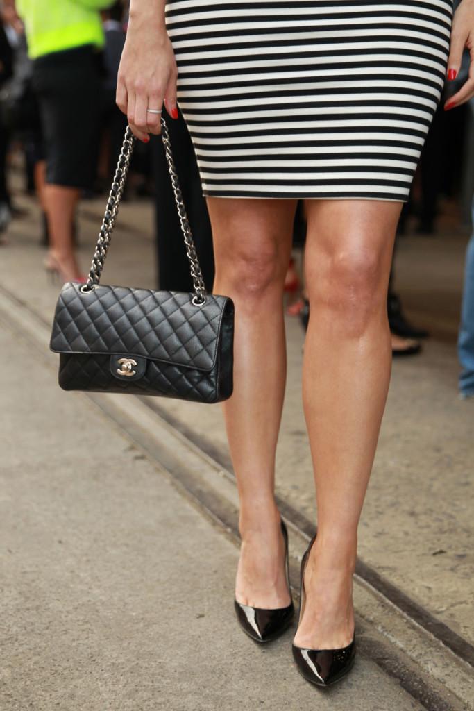 La 2.55 di Chanel, è l'ideale da abbinare ad un look classico