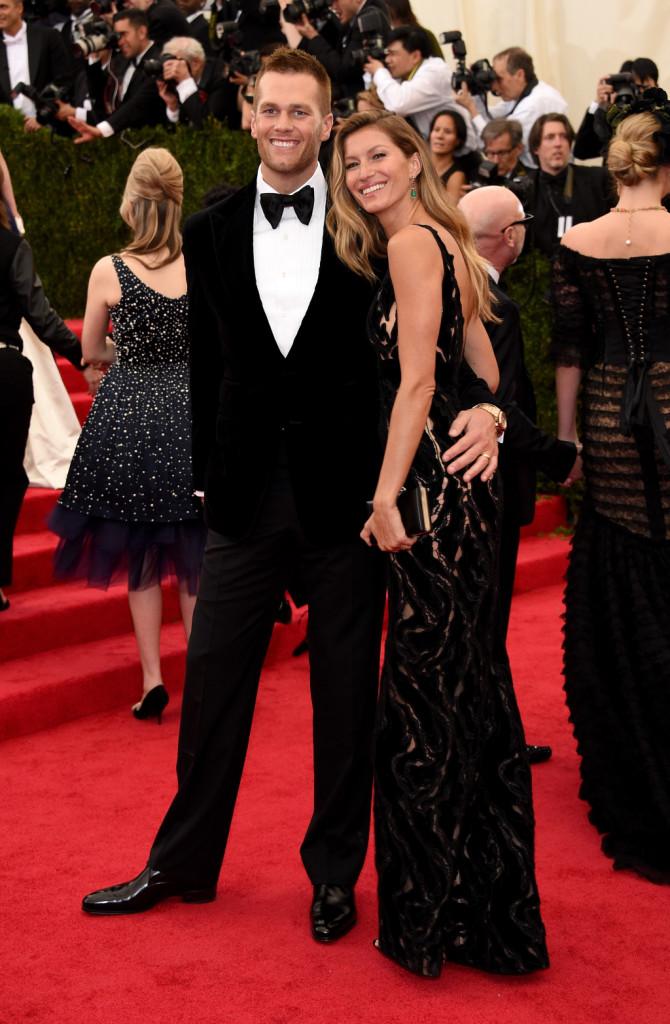 Gisele Bündchen posa insieme al marito, il giocatore di football americano Tom Brady