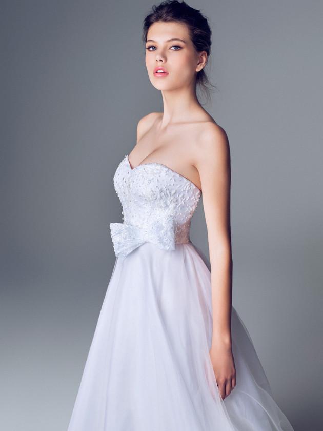 Blumarine collezione sposa 2014 con fiocco