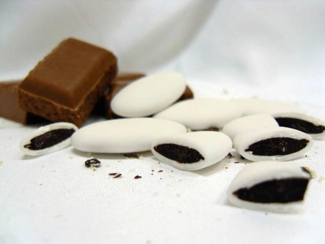 Con ripieno di cioccolato, sono i confetti preferiti dai bambini