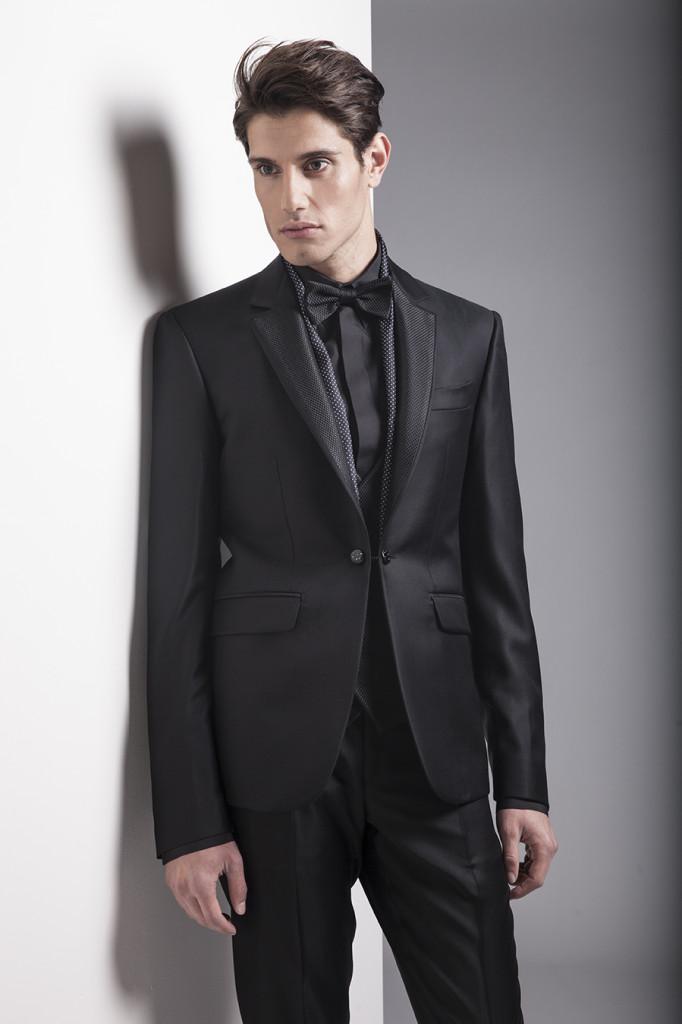 Look total black per Carlo Pignatelli
