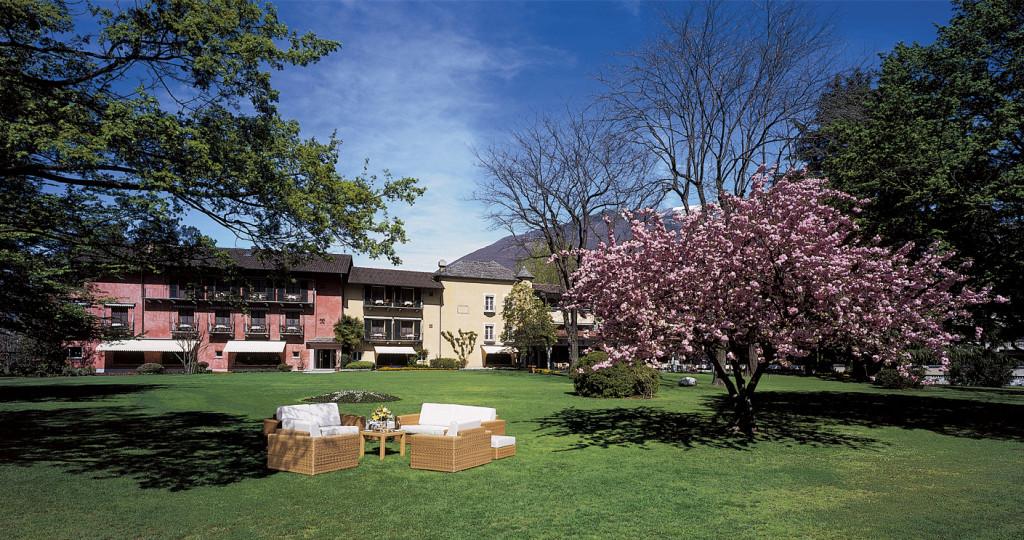 11 ettari di parco circondano il Castello del Sole di Ascona