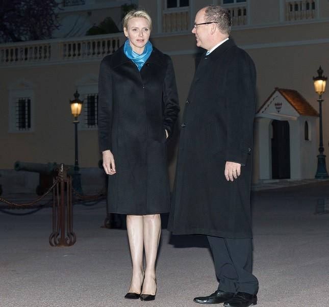 La principessa Charlene e il principe Alberto di Monaco