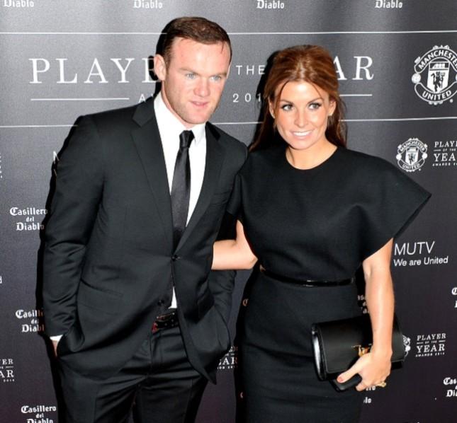 Coleen Mary McLoughlin e il marito Wayne Rooney