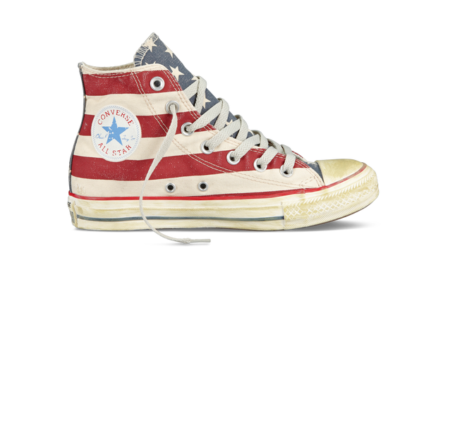 Converse Chuck Taylor Distressed Flag alte