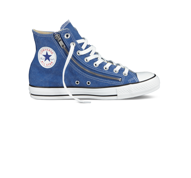Converse Chuck Taylor Stonewashed Double Zip