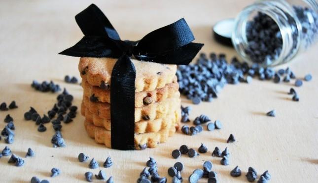 biscotti con gocciole di cioccolato