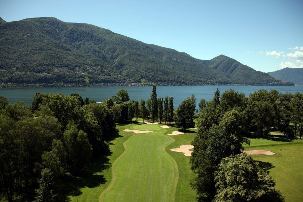 Veduta del campo di golf
