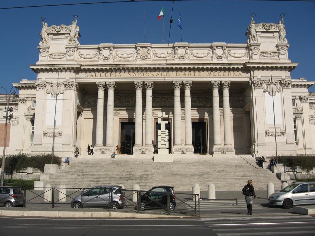 Galleria Nazionale d'arte moderna / wikipedia