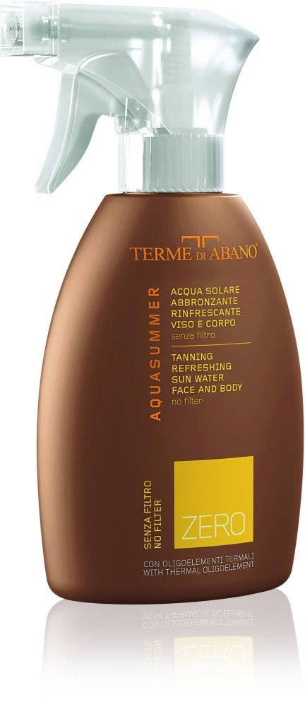 Terme di Abano AquaSummer. Acqua abbronzante: rinfresca e prolunga l'abbronzatura.