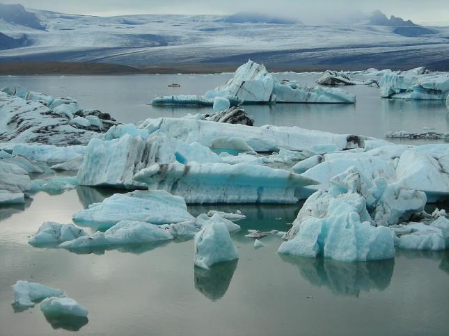 Jökulsárlón Lagoon, Islanda