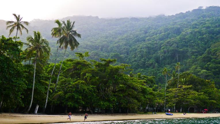 Lopes Mendes Beach, Ilha Grande, Rio de Janeiro