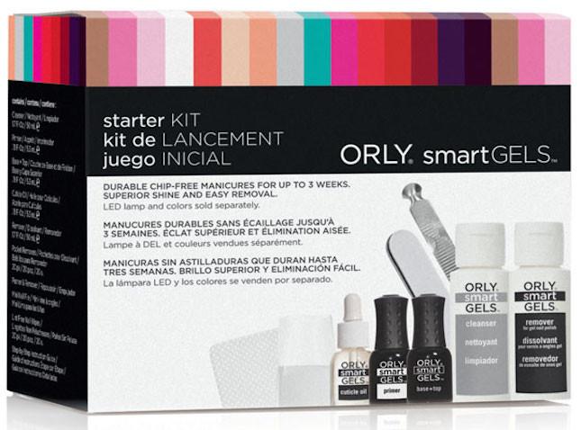 Orly SmartGel Starter Kit_completo di smalti, buffer, lime e solventi