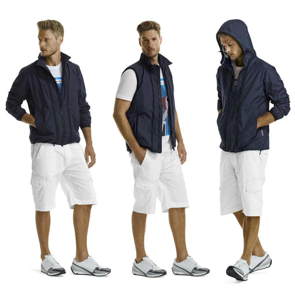 Pirelli PZero Milano Moda Uomo Spring/Summer 2015: 1x3 Weather Jacket