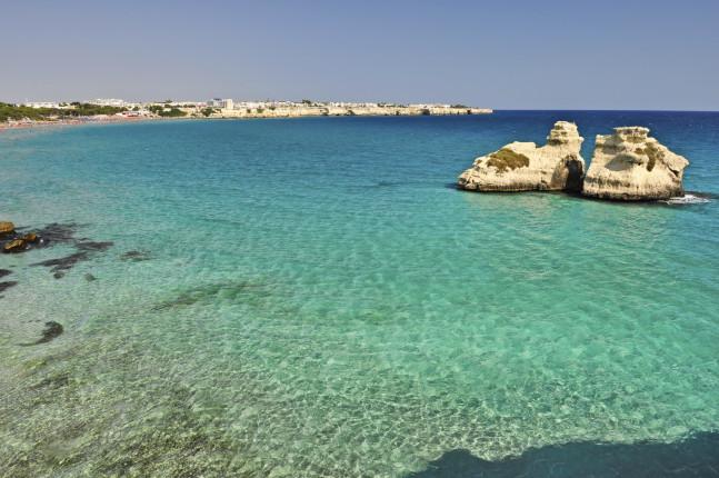 Le acque cristalline della Puglia
