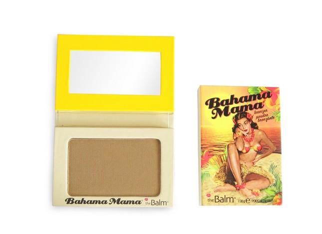 Ispirazione swing e sapore vintage per la linea di make up The Balm. Nella foto terra abbronzante Bahama Mama