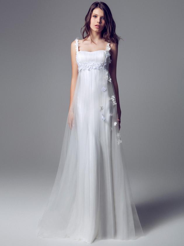 Vestito da sposa Blumarine stile impero