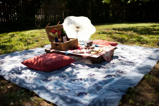 allestimento pic nic foto by huffingtonpost