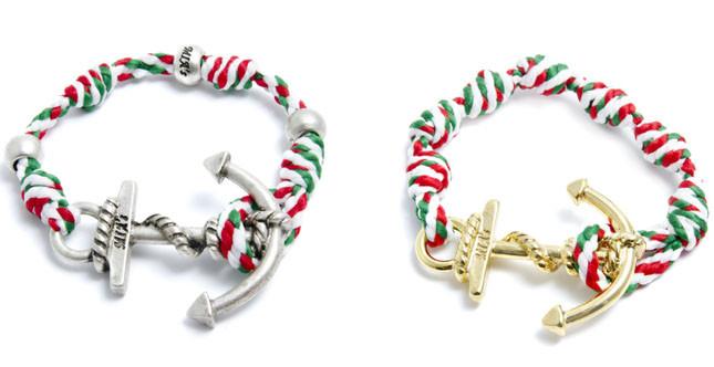 MIA's braccialetti tricolore con ancora, Mondiali di calcio Brasile 2014