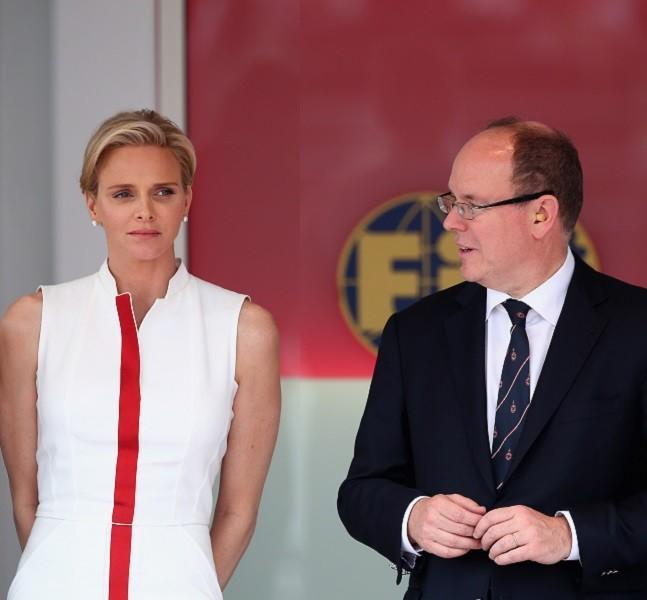 Charlene e Alberto al F1 Grand Prix of Monaco