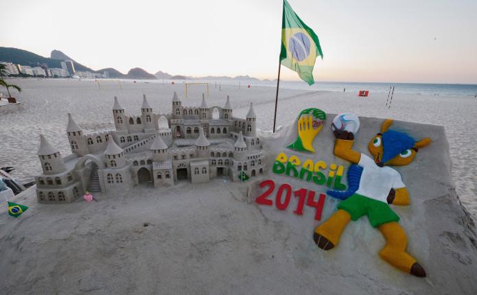 Fuleco avvistato a Copacabana Beach...