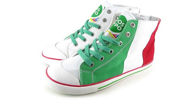 Gioseppo sneakers donna tricolore, Mondiali di calcio Brasile 2014
