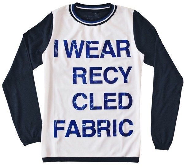 Maglia I wear recycled fabric, collezione Be More Eco, Wave-O