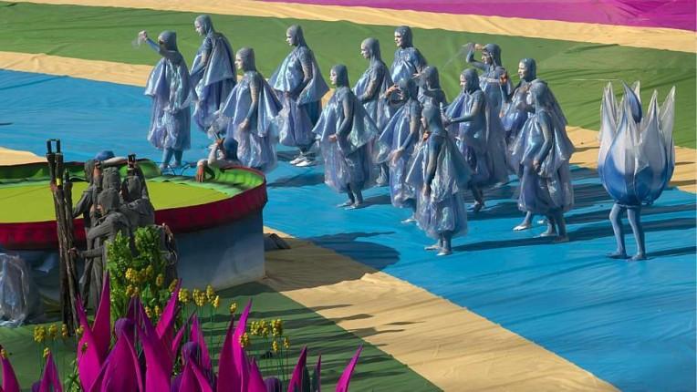 Inaugurazione mondiali: le foto delle prove / via