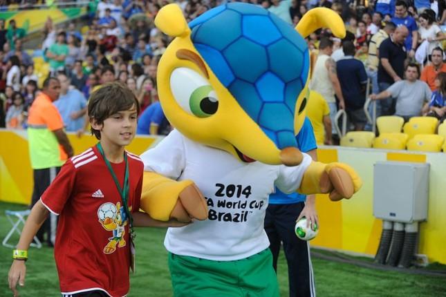 Fuleco, la mascotte dei mondiali Brasile 2014