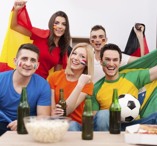 Basta pizza e birra durante le partite! Ecco tante idee per i vivere i mondiali con più gusto