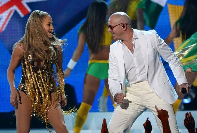 JLo e Pitbull