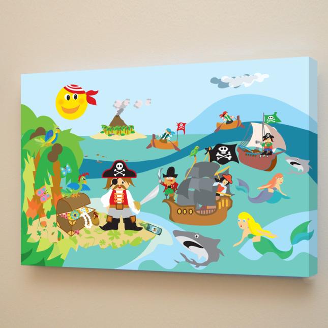 L'isola del tesoro - Collezione Magic World - Quadriperbambini - a partire da 79 euro