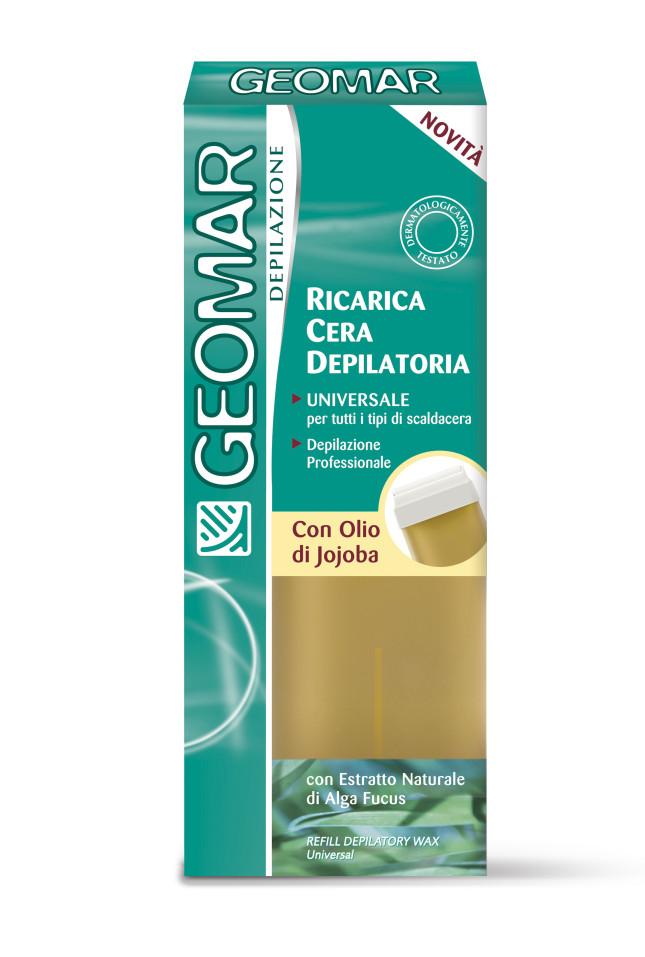 Ricarica cera depilatoria Geomar con estratti di olio di Jojoba