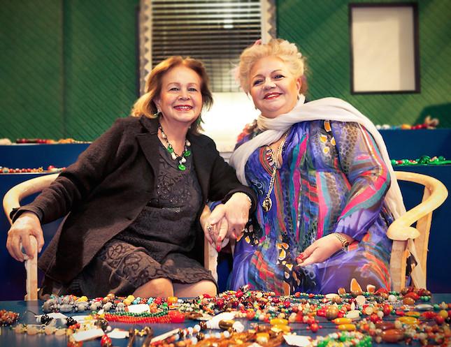 Rita e Simonetta Frascione, ideatrici del brand Indaco