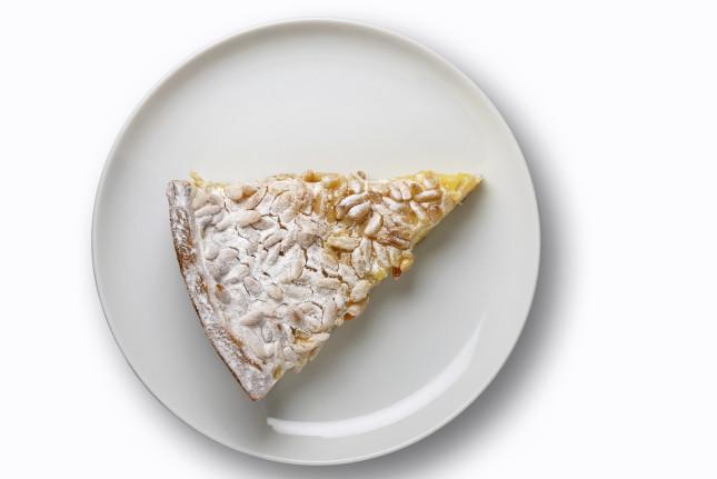 torta della nonna con la crema