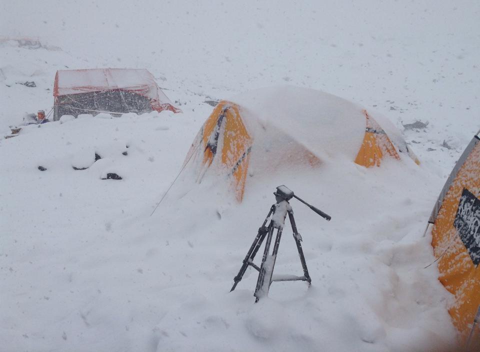 Foto di Michele Cucchi dall'Himalaya