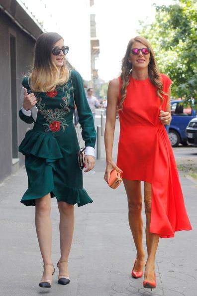 Street Style Men Fashion Week- Anna dello Russo ed Eleonora Carisi