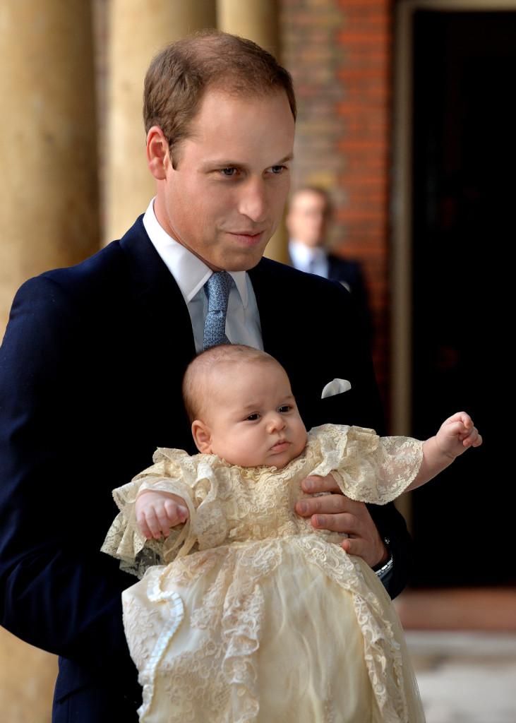 William e George: è il giorno del battesimo