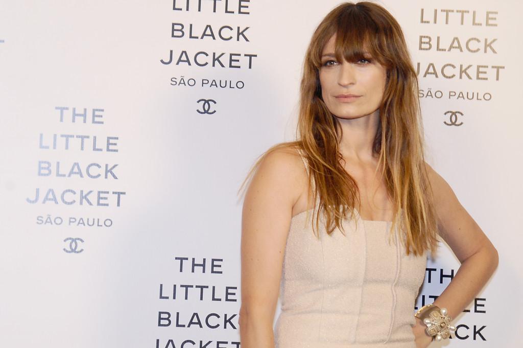 Caroline de Maigret alla mostra di Chanel Little Black Jaket