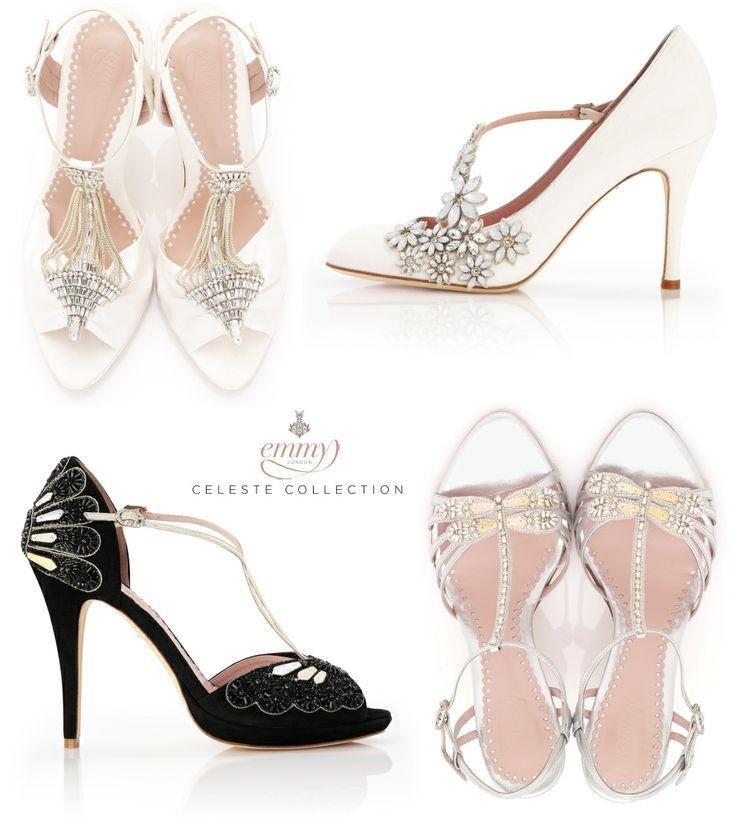 Calzature da sposa di Emmy London, il brand che realizza scarpe e accessori per il grande giorno