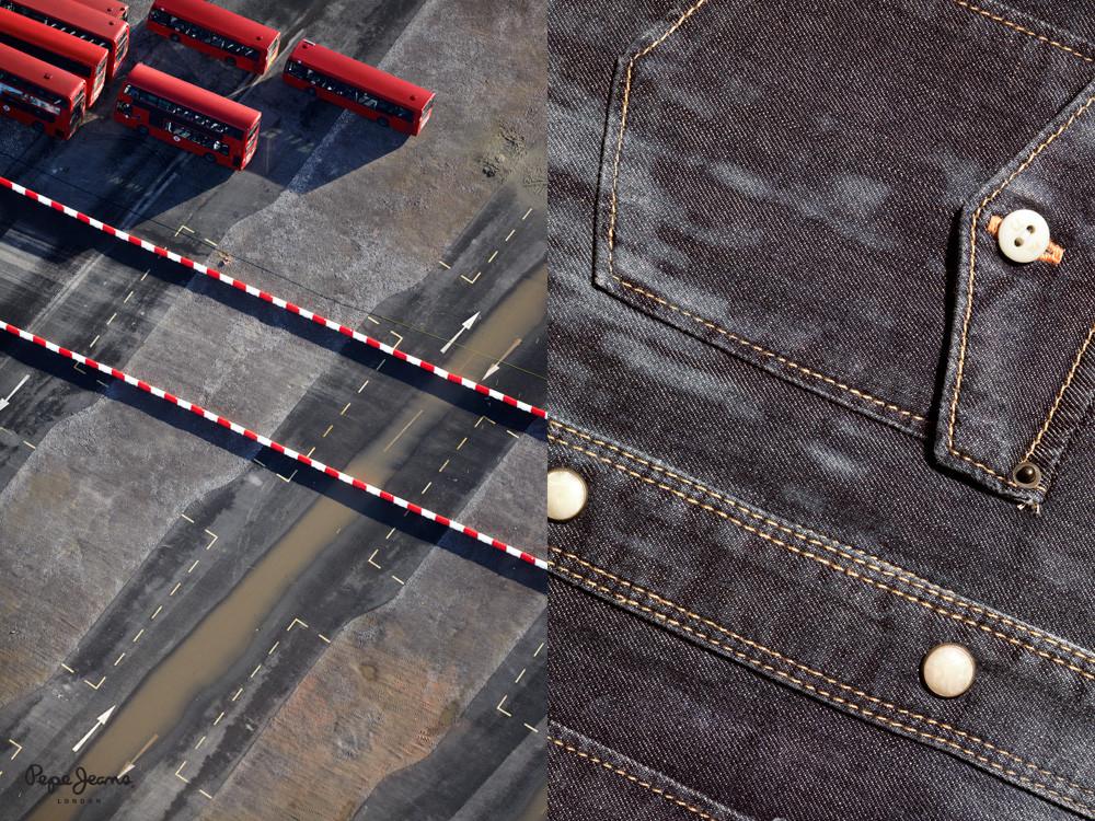Demin e il celebre bus rosso londinese