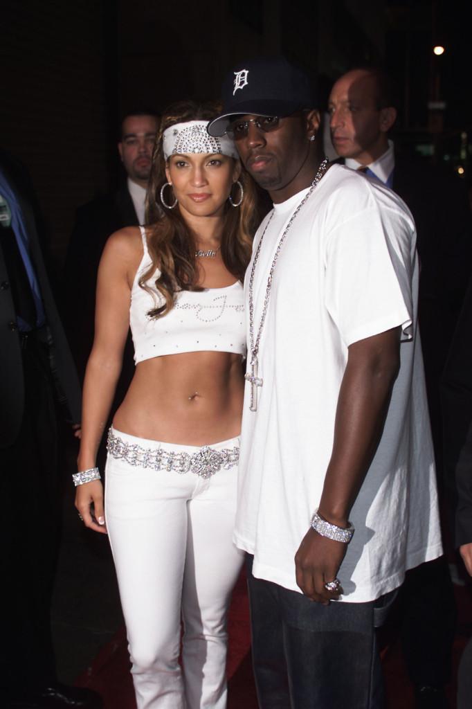 Ai tempi della love story con P Diddy una bandana fra i capelli la avvicina al suo stile