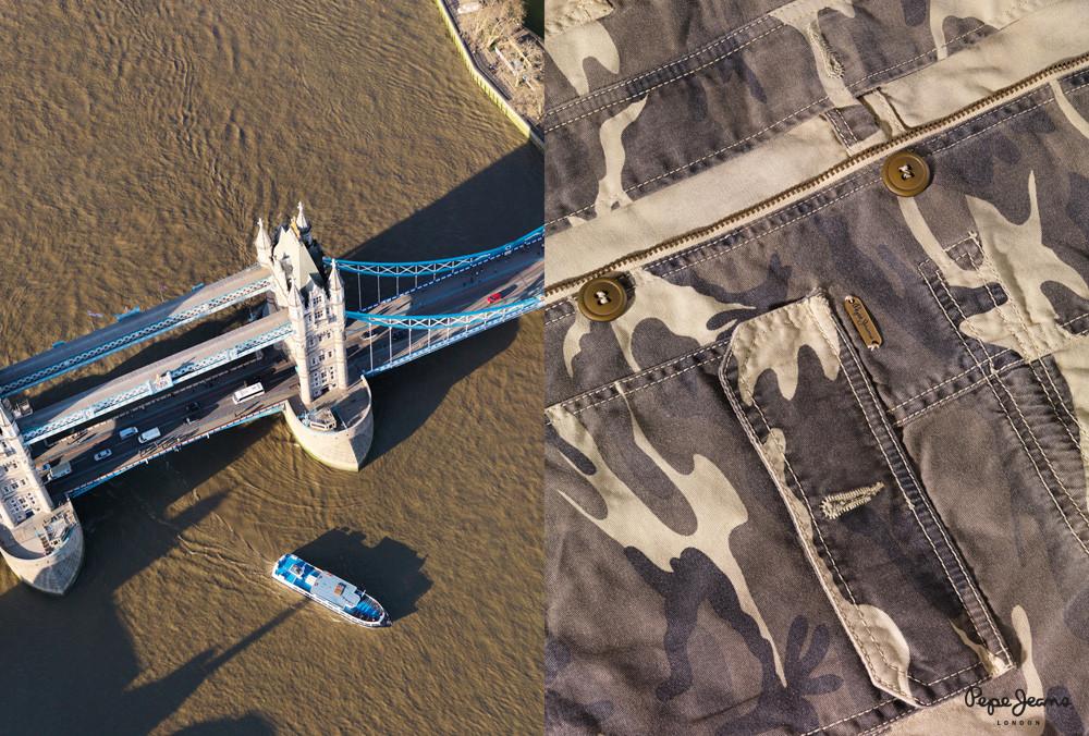Denim e la Torre di Londra
