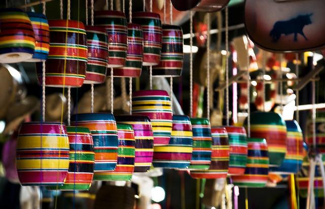 Dalle spiagge ai piccoli negozi, il Messico è pieno di colore