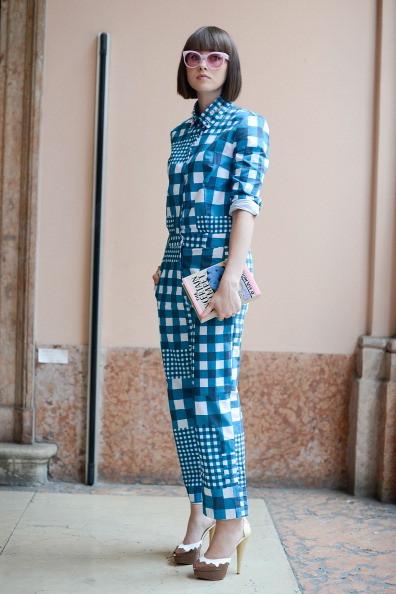 Street Style Men Fashion Week - Borsa Olympia Le Tan