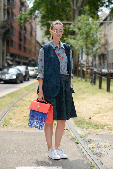 Street Style Men Fashion Week - Borsa Savas